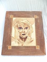 Jeune femme. Bv Sculpture Art