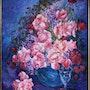 Bodegon de flores. Emilio Bejar Jiménez-