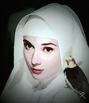 Audrey Hepburn. Raymond Marcel Depienne