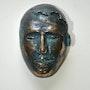 Tête de Faune. Sculpteur / Tauzia Jean-Pierre