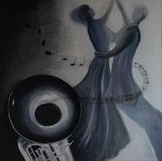 Musique & Danse - Série Noire et Blanc.