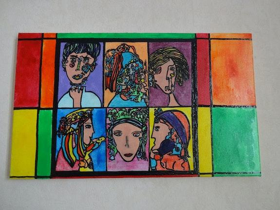 Des Portraits 1. Magaly-Deturbet Magaly Deturbet
