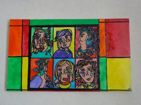 Des Portraits 2. Magaly-Deturbet Magaly Deturbet