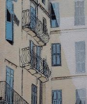 Balcons à Nice.