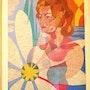 Tableau Peintre Benlliure Enrique Alvarez né à Madrid 1922 / Nieto De Mar. Antiguedadesoratam