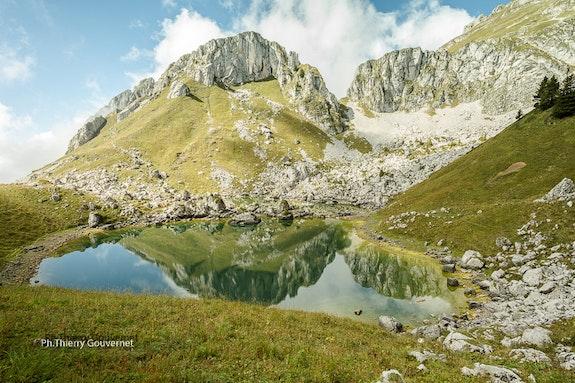 Lac Darbon, 22 septembre 2014.12h, Haute-Savoie, photographe : Thierry Gouvernet. Thierry Gouvernet Thierry Gouvernet