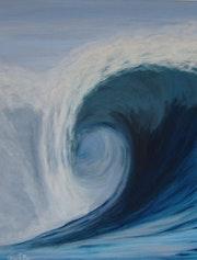 Uhaïna La vague de la côte basque. Anne. C