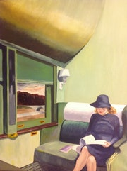 From Hopper Compartiment c voiture 293. Jean-Michel Dubouchet
