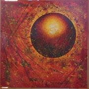 » Éruption solaire».