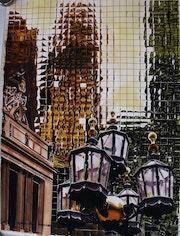 Reflets sur un gratte-ciel. Gilbert Verani