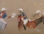 Scène de Polo. Nicolas Houyvet