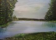 Le calme du lac.