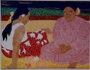 Femmes Tahitiennes sur la Plage - Gauguin.