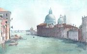 Venise - Le Grand Canal.