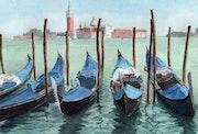 Venise - Gondoles.
