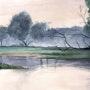 L'arbre mort. Claude Menge
