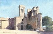 Beaucaire - Le Château.