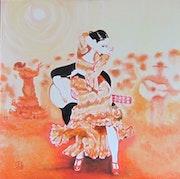 Festival espagna n° 301 10/2014. Jean Claude Ciutad-Savary. Artiste Peintre
