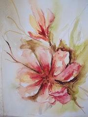 Flor de duraznero. Edith Volkart