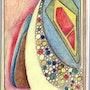 Crayons de couleur. Jean-Paul Verdenal