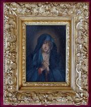 Vierge en priere. Marc Menzoyan Antiquités