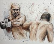 Boxeurs.