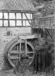 Alte Mühle im Freilichtmuseum Detmold. Reinhold Werner