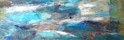 Blue water cloud.