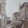 Arles - Montée des arènes. Claude Menge