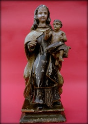 Vierge à l'enfant. Marc Menzoyan Antiquités
