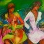Mujeres en espera. Gloria Arias