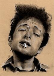 Portrait Bob Dylan.