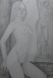 Nu de femme emma. Bernard Ochietti