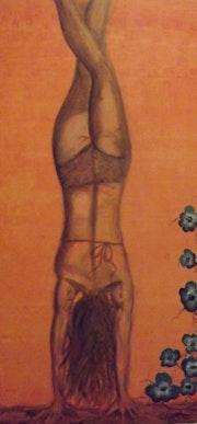 Handstand. Heike Aschaber