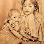 Enfants du Laos. Dom