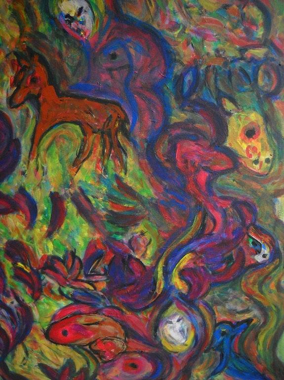 Le bestiaire inachevé. Ydil Claire Artiste Peintre, Analyste Jungienne Ydil-Claire