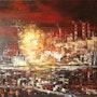 Martigues… Paysage industriel.. Roger Perrier