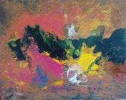 Peinture abstraite composition 15.