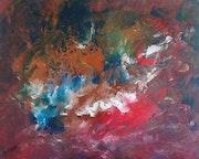 Peinture abstraite composition 18.