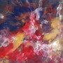 Peinture abstraite composition24. Bernard Ochietti