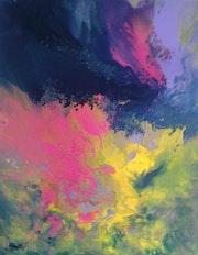 Peinture abstraite composition26.