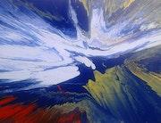 Peinture abstraite composition 2bis.