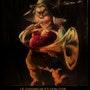 «Le saigneur» et son cor. Tony-Jeanne D