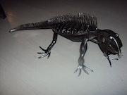 Iguane a molette.
