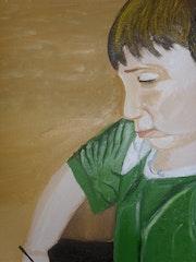 Yanis dessine. Yann Lefebvre