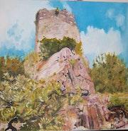 La tour de Pampelonne - Tarn.