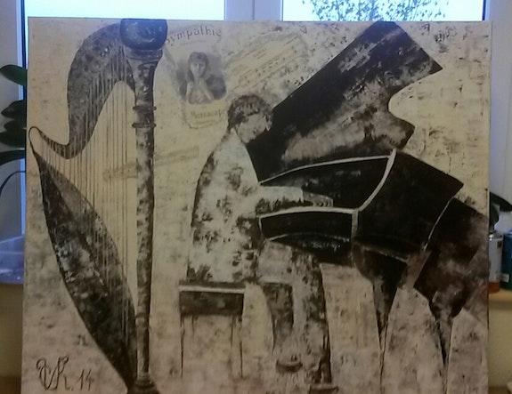 Monde de la musique de chambre.  Christine Venniro