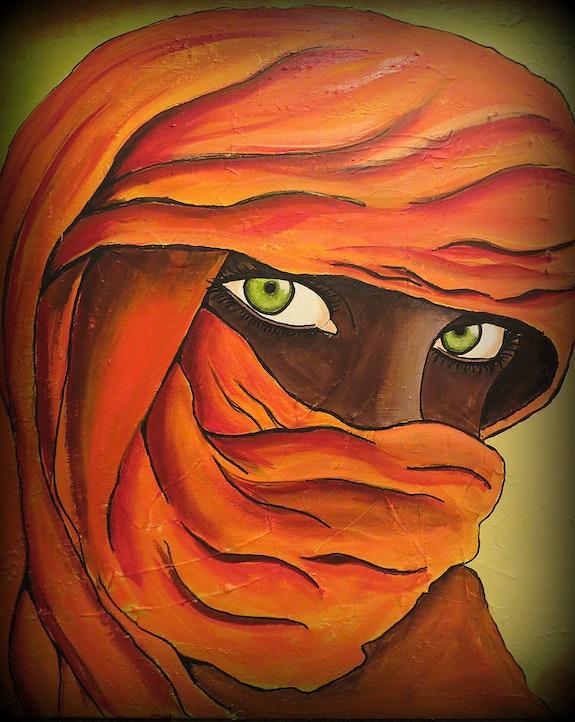 Femme du désert. Suzie Rodz Suzie Rodz