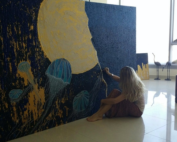 Working on Deep Silence. Mioara Cherki Mioara Corozel Cherki