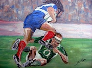 Le passage en force - Rugby. Sergio